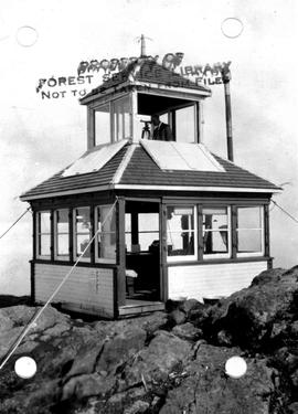 Forest Service; Mount Benson lookout.