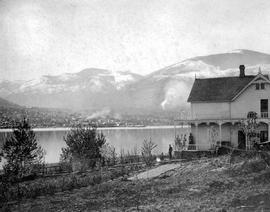 A view of Nelson from Mr. and Mrs. James Johnstone's fruit ranch.