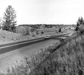 Highway 97 near 100 Mile House.