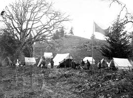 Encampment of the Indian Commission.