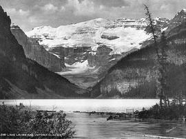 """Lake Louise and Victoria Glacier."