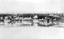 Early view of New Westminster.