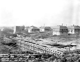 Housing Subdivision Under Construction; Looking Northwest From Glasgow Street, Victoria.