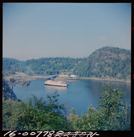 Ferry At Horseshoe Bay