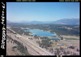Aerial Of Wasa Lake