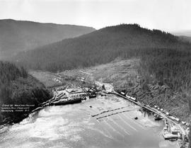 """Wood and English Lumber Mill, Eaglewood, Vancouver Island, BC""; Englewood, showing saw..."