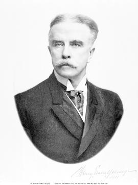 The Honourable Dr. Henry Esson Young, Minister of Education and Provincial Sescretary, 1907 to 1916.