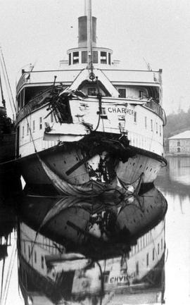 CPSS SS Charmer after colliding with SS Tartar off Point Grey, Vancouver