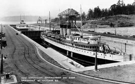 """New Dominion Government Dry Dock, Esquimalt near Victoria, BC."""