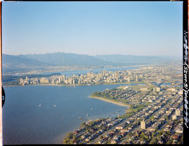Aerial. Vancouver Harbour