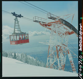 Winter At The Grouse Mountain Sky Ride, North Vancouver