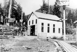 """City of Prince Rupert, Woodworth Lake, powerhouse"""