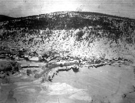 Barkerville in winter.