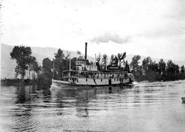 The SS State of Idaho on the Kootenay River.