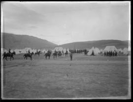 Cavaltry at Vernon camp