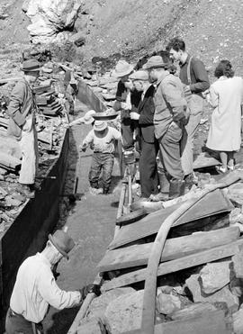 Clean Up At Lowhee Mine, Barkerville