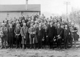"""Canadian Institute of Mining, BC Divison, Delegates in Convention at Trail BC, Oct. 1923""; miscellaneous E album."