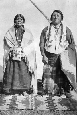A First Nations couple, unidentified.