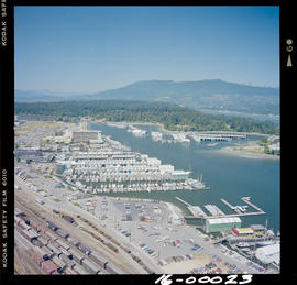 Aerial, Vancouver Marina
