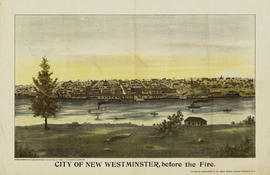 City Of New Westminster, Before The Fire.