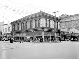 Victoria; Southeast Corner Yates And Government Streets; Union Building To The Right At The Corne...