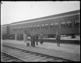 Troops Boarding Train, Vancouver