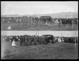 Scenes at Sidney Military Camp.