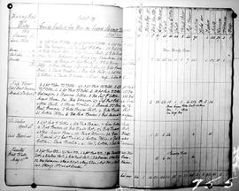 "A page of the ""skin book"" from the S.S. Beaver"