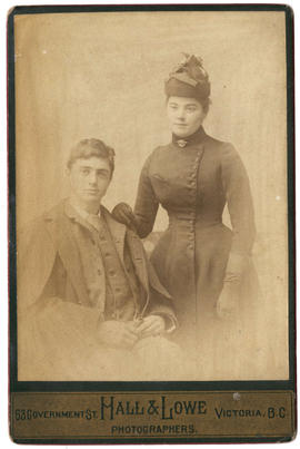 Richard (Dick) Carr and his sister Emily Carr.