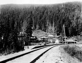 Glacier House and station, on the Canadian Pacific Railway