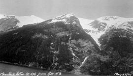 """Mountain between (4) and (5) from G. W. 43""."