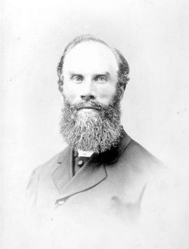 The Reverend Cornelius Bryant, Methodist minister in Nanaimo in the early 1860's.
