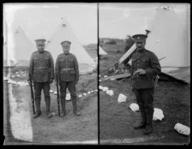 143rd Battalion soldiers at Sidney Camp