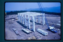 Quintette Coal - Mcconkey Truck Shop Steel Erection