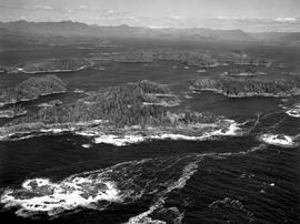 Aerial Of Barkley Sound