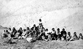 Tyhee, Chin-e-mitze.  The Nincumshin tribe of Indians on the Thompson River.  B.C.
