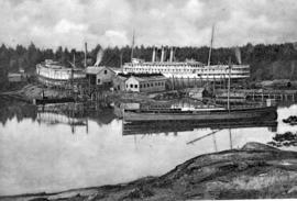 The SS Princess Victoria at the BC Marine Railway.