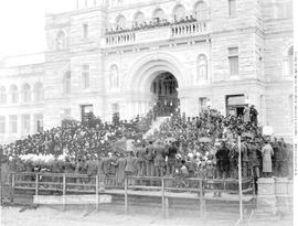 Victoria, Official Opening Of New Legislative Buildings; First Session.