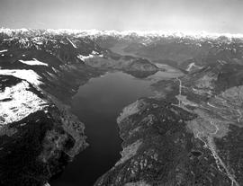 Aerial Of Great Central Lake