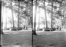 A stereoscopic view of Gorge Park, Victoria