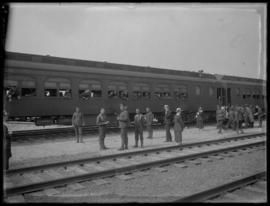 Troops Departing via Train from Vancouver