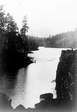"""Lake, reservoir or river near the Nanaimo Dam"", No. 64."