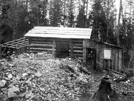 Miner's cabin at the Nightingale Mine.