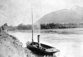 The Midge, The First Steamboat On Kootenay Lake.