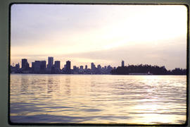 Burrard Inlet And Vancouver Skyline