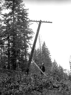 BC Telephone Company operations on Salt Spring Island.