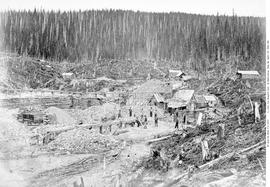 The Alturas Gold Mining Claim on Lowhee Creek Cariboo.  [Dally may be incorrect in this caption. ...