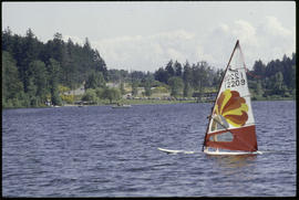 Elk Lake Wind Surfing