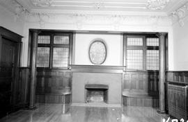 "One of the fireplaces; George H. Aylard's residence ""Stonehaven"", 625 Elliot Stree..."