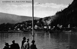 """Arrowhead, BC, from CPR steamer."""